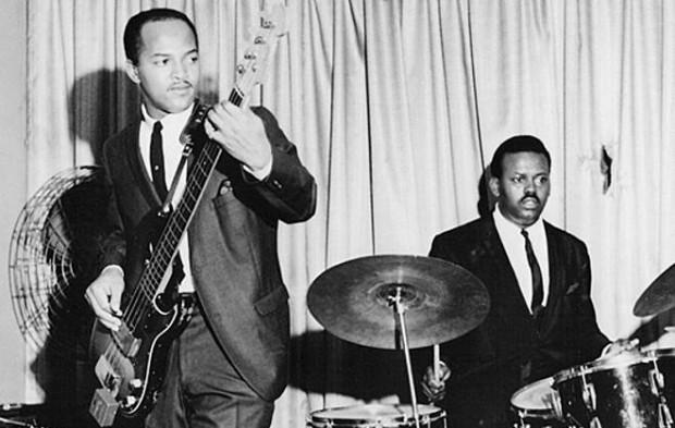 James Jamerson, artífices del sonido Motown y bajista de Marvin Gaye
