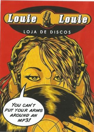 Louie Louie loja de discos de Oporto