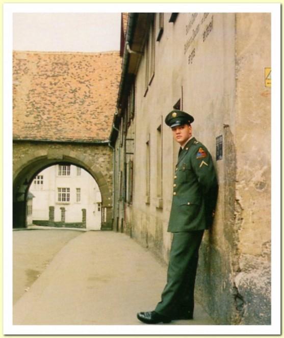 Friedberg, army home of Elvis Presley