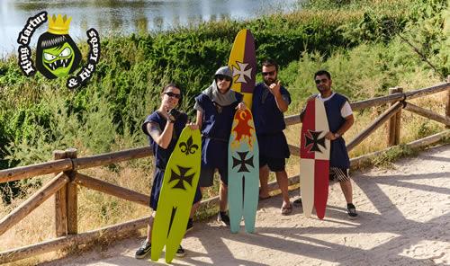 Documento de alto valor histórico: Xilografía medieval que demuestra el surf, tanto el deporte como el estilo musical, nació a las orillas del río Tajo