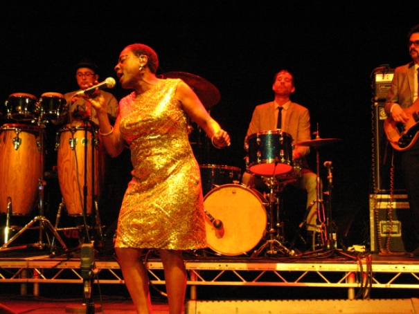 Sharon Jones live in Roundhouse London