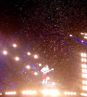 Lluvia de confeti para Angus