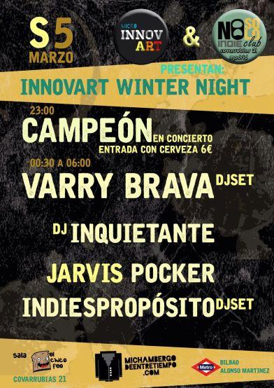 Mi Chambergo_Innovart Winter Day
