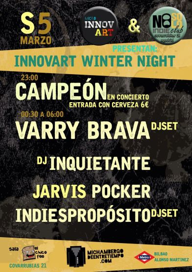 Mi Chambergo_Innovart Winter Day